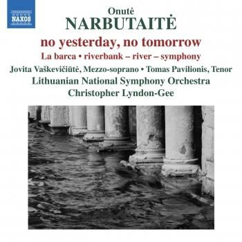 Cover Narbutaitė: No Yesterday, No Tomorrow