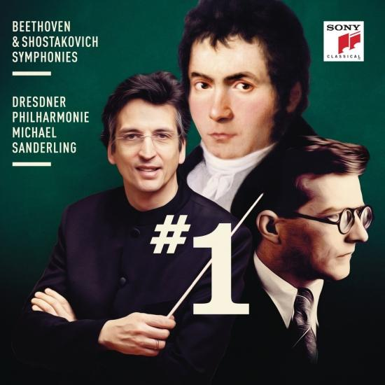 Cover Beethoven & Shostakovich: Symphonies Nos. 1