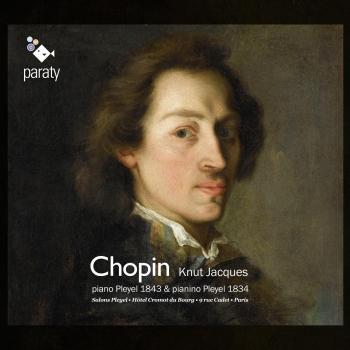 Cover Chopin: piano Pleyel 1843 & pianino Pleyel 1834