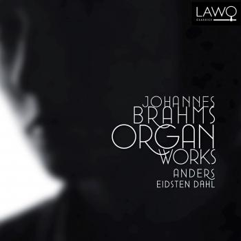 Cover Johannes Brahms Organ Works