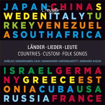 Cover Länder, Lieder, Leute - Countries, Custom, Folk Songs