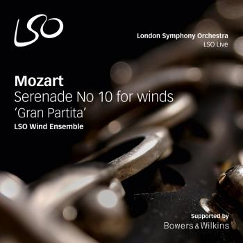 Cover Mozart: Serenade No. 10 in B-Flat Major, K. 361, 'Gran Partita'