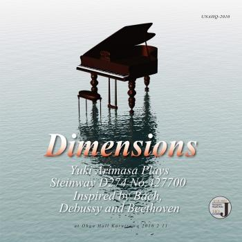 Cover Dimensions (Works by Bach, Debussy, Beethoven)