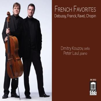 Cover French Favorites: Debussy, Franck, Ravel & Chopin
