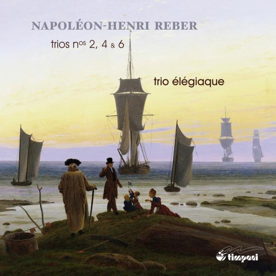 Cover Reber: Trios No. 2, 4 & 6