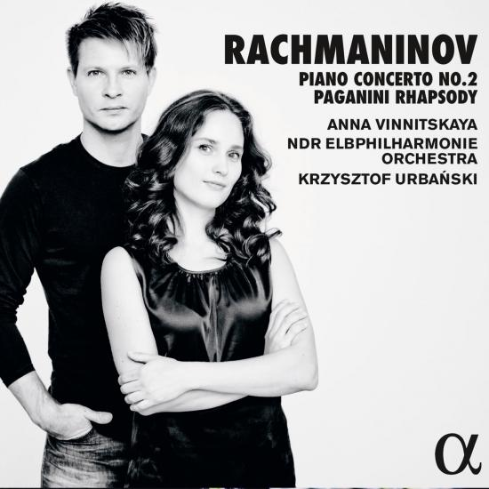 Cover Rachmaninov: Piano Concerto No. 2 in C Minor, Op. 18 & Rhapsody on a Theme of Paganini