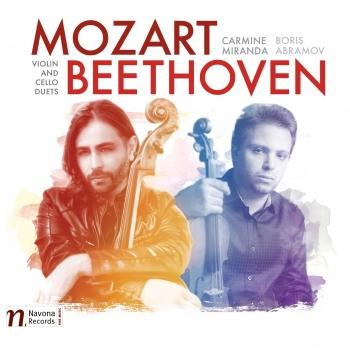 Cover Mozart & Beethoven: Violin & Cello Duets