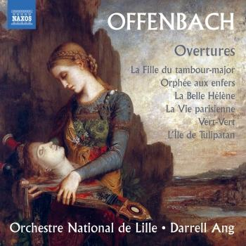 Cover Offenbach: Overtures