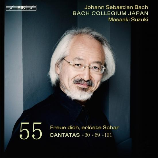 Cover Bach: Cantatas, Vol. 55