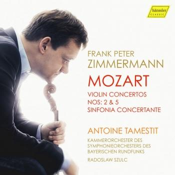 Cover Mozart: Violin Concertos Nos. 2 & 5 and Sinfonia concertante