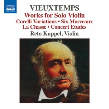 Cover Vieuxtemps: Works for Solo Violin