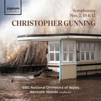 Cover Christopher Gunning: Symphonies 10, 2 and 12