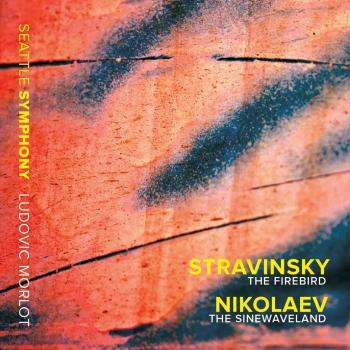 Cover Stravinsky: The Firebird - Vladimir Nikolaev: The Sinewaveland (Live)