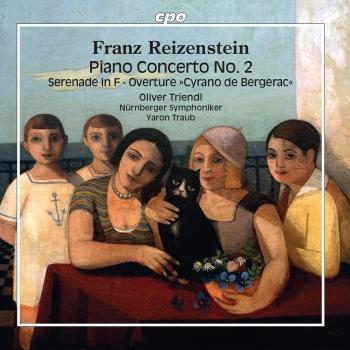 Cover Reizenstein: Piano Concerto No. 2 & Orchestral Works