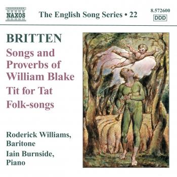 Cover Britten: Songs and Proverbs of William Blake - Tit for Tat