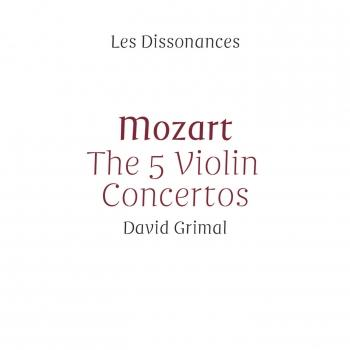 Cover Mozart: The 5 Violin Concertos