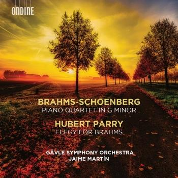 Cover Brahms: Piano Quartet in G Minor (Orch. A. Schoenberg) - Parry: Elegy for Brahms