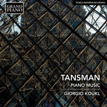 Cover Tansman: Piano Music