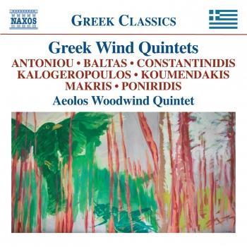 Cover Greek Wind Quintets