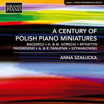 Cover A Century of Polish Piano Miniatures