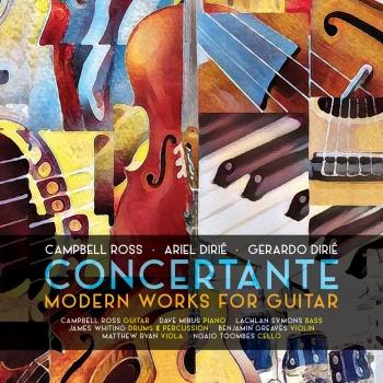 Cover Concertante: Modern Works for Guitar