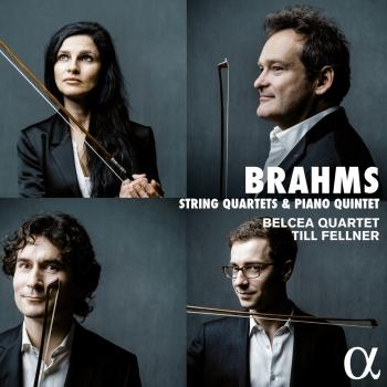 Cover Brahms: String Quartets & Piano Quintet