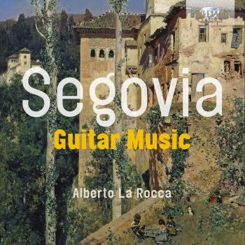Cover Segovia: Guitar Music