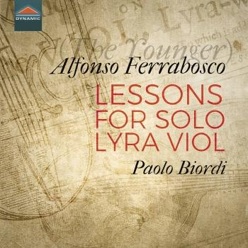 Cover Alfonso Ferrabosco: Lessons for Solo Lyra Viol