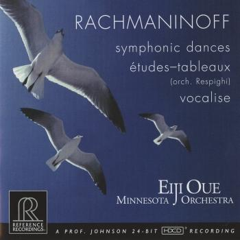 Cover Rachmaninov Symphonic Dances - Vocalise - Respighi Rachmaninov - 5 études-tableaux