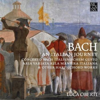 Cover Bach: An Italian Journey