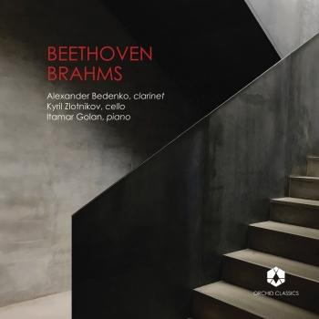 Cover Beethoven: Clarinet Trio in E-Flat Major, Op. 38 - Brahms: Clarinet Trio in A Minor, Op. 114