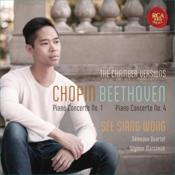 Cover Chopin: Piano Concerto No. 1 & Beethoven: Piano Concerto No. 4 (Chamber Music Versions)