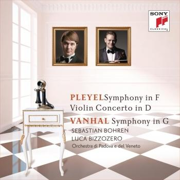 Cover Pleyel: Symphony in F & Violin Concerto in D / Vanhal: Symphony in G