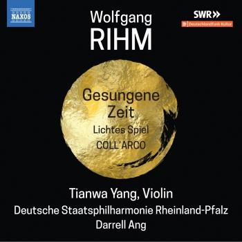 Cover Wolfgang Rihm: Music for Violin & Orchestra, Vol. 2