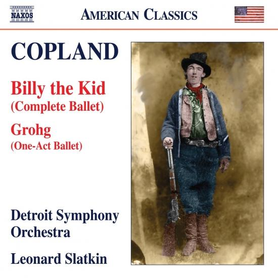 Cover Copland: Grohg & Billy the Kid