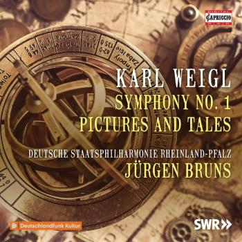 Cover Weigl: Symphony No. 1 in E Major, Op. 5 & Pictures and Tales Suite