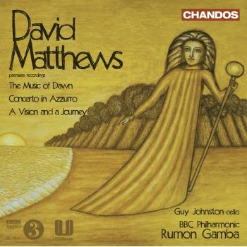 Cover David Matthews - Orchestral Works