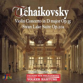 Cover Tchaikovsky: Violin Concerto in D Major, Op. 35 & Swan Lake Suite, Op. 20a