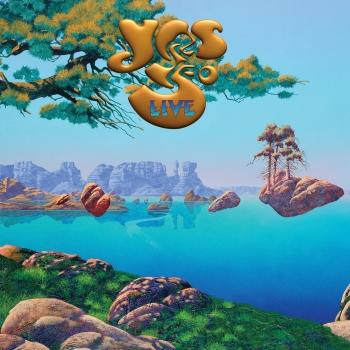 Cover Yes 50 Live