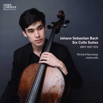Cover Bach: 6 Cello Suites, BWV 1007-1012