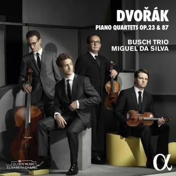 Cover Dvořák: Piano Quartets Nos. 1 & 2