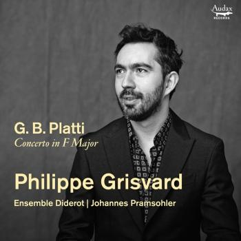 Cover Platti: Harpsichord Concerto in F Major