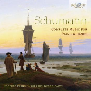 Cover Schumann: Complete Music for Piano 4-hands