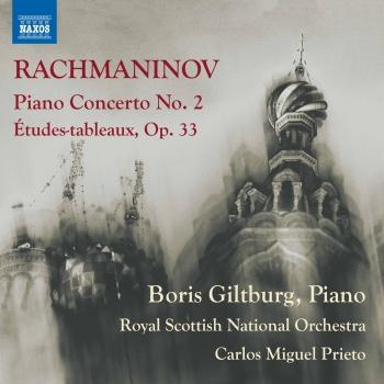 Cover Rachmaninov: Piano Concerto No. 2 in C Minor, Op. 18 & Études-tableaux, Op. 33