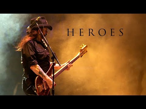 Video Motörhead 'Heroes' (David Bowie Cover)