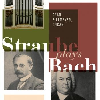 Cover Straube Plays Bach