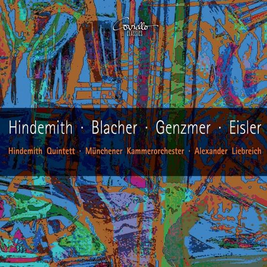 Cover Works by Hindemith, Blacher, Genzmer, Eisler