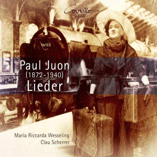 Cover Paul Juon: Lieder