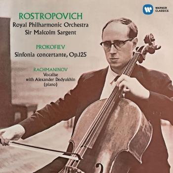 Cover Prokofiev: Sinfonia concertante, Rachmaninov: Vocalise (Mono - Remastered)