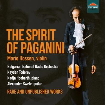 Cover The Spirit of Paganini